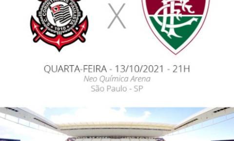 Brasileirão: Corinthians x Fluminense, saiba todos detalhes do jogo desta quarta-feira