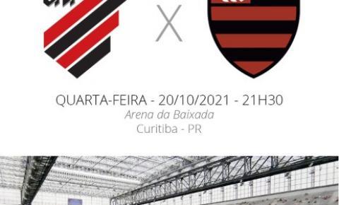 Flamengo encara o Athletico-PR para decidir finalista da Copa do Brasil