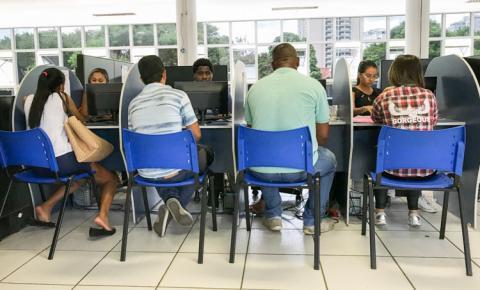 Espaço da Oportunidade em Campos com vaga para auxiliar administrativo de marketing digital