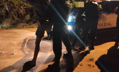 É preso pela PM terceiro envolvido pela morte de mulher que teve veículo incendiado