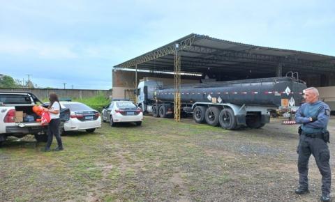 Polícia Civil faz operação contra quadrilha especializada em furto de combustíveis nesta quinta