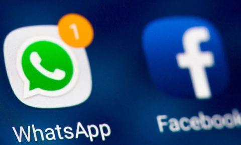 Facebook e WhatsApp passam por instabilidade e internautas relatam problemas