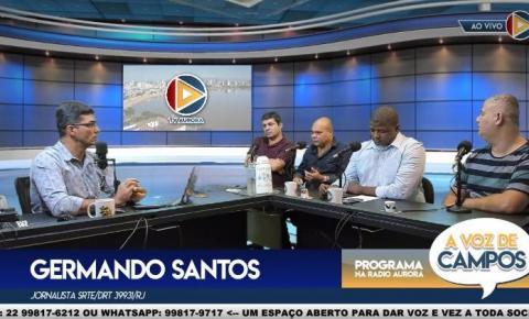 Debate sobre Segurança Pública x Privada marcou o programa A Voz de Campos desta segunda-feira (27)