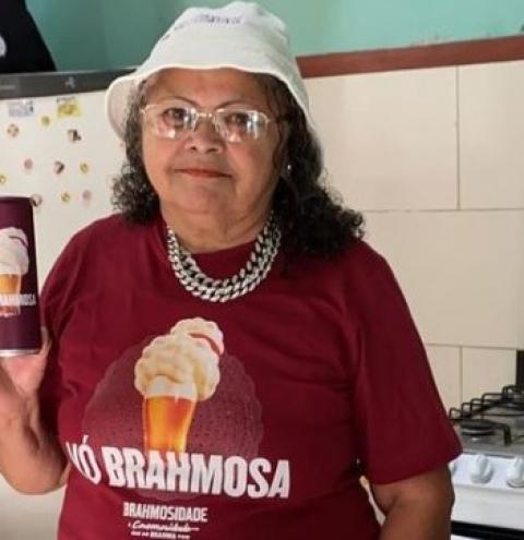 Após campanha viralizar na internet, Brahma presta homenagem a vovó sergipana