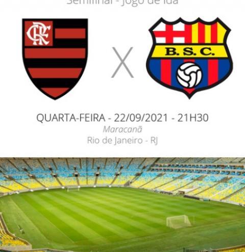 Flamengo enfrenta o Barcelona-QUE pela Libertadores nesta quarta-feira