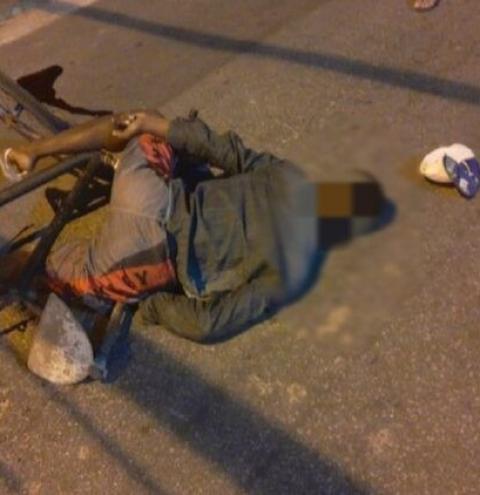 Ciclista é morto a tiros em Campos